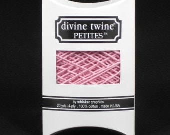 Solid Light Pink Divine Twine Petites™ from Whisker Graphics - 20 Yards