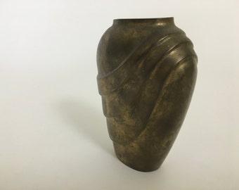Brass Vase - heroic, toga style design