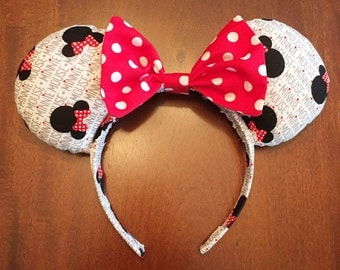Minnie Rock the Dots Mouse Ears