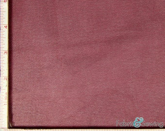 """Burgundy Red Tulle Illusion Knit Fabric Nylon 108"""""""