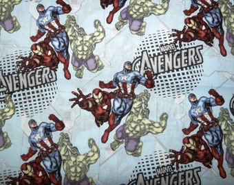 Fabric - Marvel - Avengers assemble - cotton print.