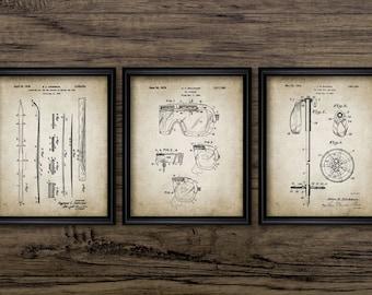 Ski patent | Etsy