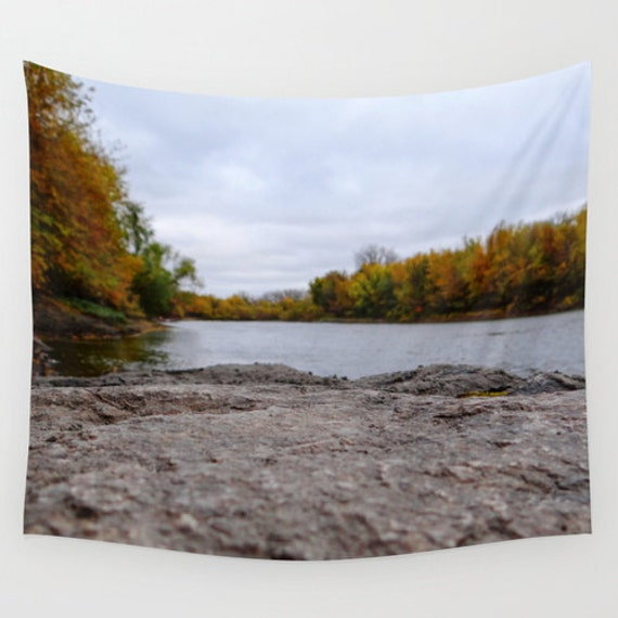 Wall Tapestry, Fall Images, Autumn Pictures, Minnesota Photos, Unique Landscape, Nature Photography, Wall Hangings, Colorful Trees, Lake Pic