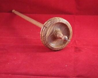 Drop spindle in oliveash with ash shaft 1.5oz / 43g