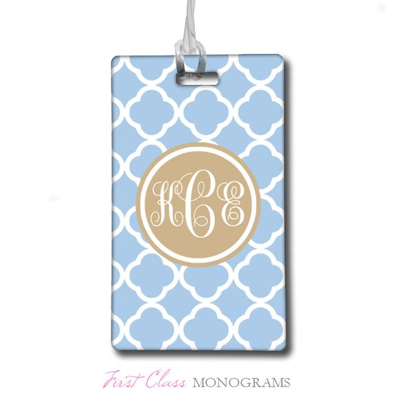 Baggage Tag Monogrammed Gifts Personalized Gifts For Her