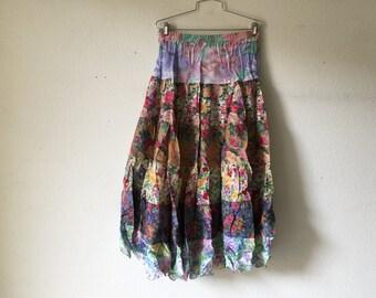 Vintage 80s Skirt Long Zashi
