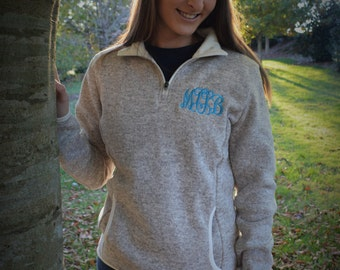 Charles River Fleece Pullover (Embroidered)