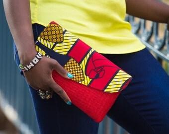 African Handmade Clutch