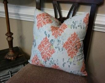 Pillow Cover, BOTH SIDES Designer Pillow Cover 18x18, 20x20, 22x22,24x24,Lacefield Sedona Slub Honeydew