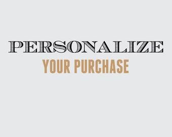 Add basic personalization