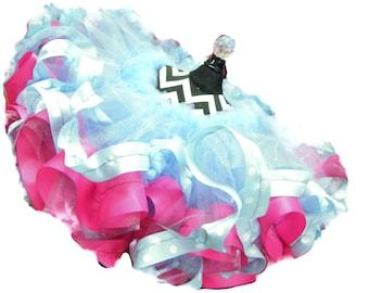 Flower Girl Tutu-Wedding Tutu-Pageant Wear-Pageant Tutu-Tutu Skirt-Pink