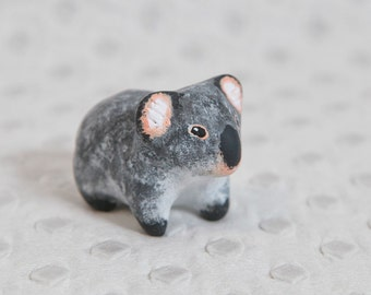 SALE!!!  Sweet koala totem. Animal totem - Polymer clay animal OOAK figurine, talisman, amulet