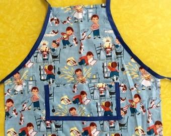 Kitchen mishaps toddler apron