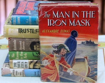 "A striking 1960s Deans Classic Series of ""The man in the Iron Mask "" by Alexandre Dumas"