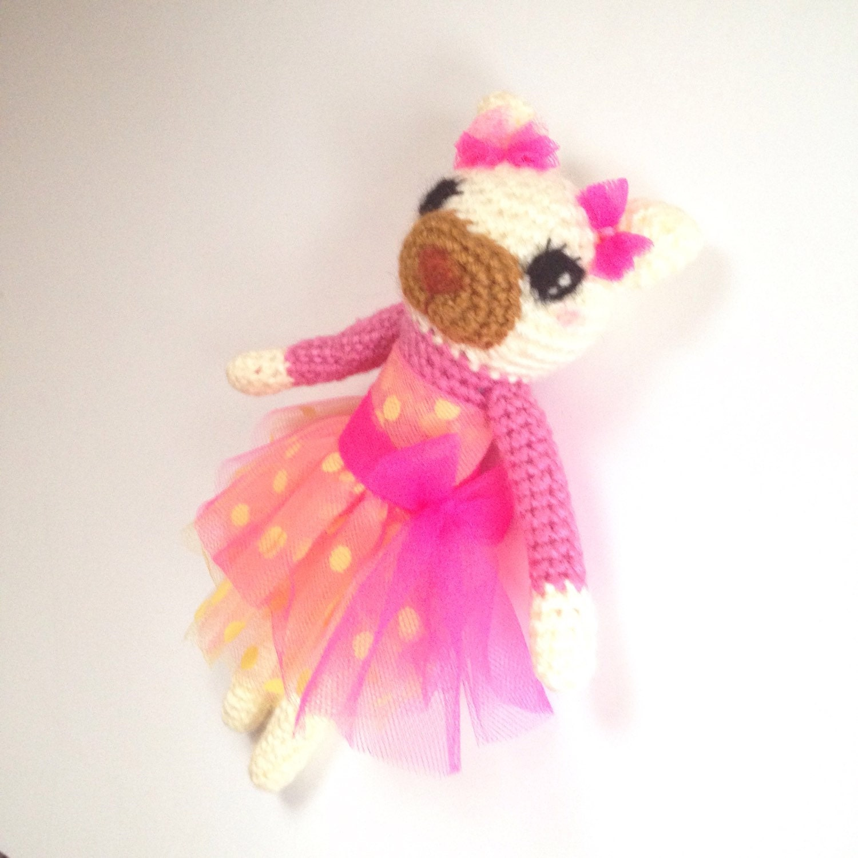Hanmdade Crochet Cat Doll Amigurumi Cat Toy Crochet by ...
