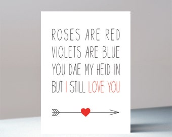 I Still Love You Valentines Card