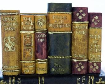 Mini Book Bookend Book Holder