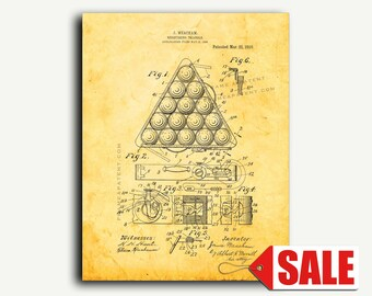 Patent Print - Registering-triangle Patent Wall Art Poster