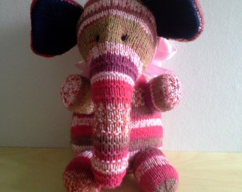 Pink Multi Elephant
