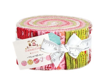 IN STOCK-- Just Another Walk in the Woods by Stacy Ies Hsu for Moda Fabrics. Jelly roll 20520JR