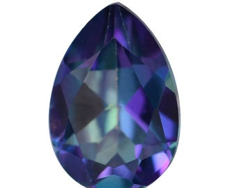 Mystic Verve Zing Topaz Pear Cut Loose Gemstone 1A Quality 9x6mm TGW 1.50 cts.