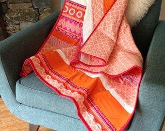 Custom Baby Quilt, Custom Crib Blanket, Custom Crib Quilt,  Customized Quilt, Custom Design Quilt, Choose your Fabric, Unique Baby Gift