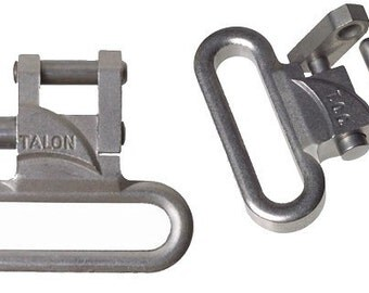 Talon 1 inch Rifle and Gun Sling Swivels Black or Stainless