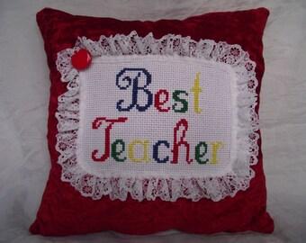 Best Teacher cushion
