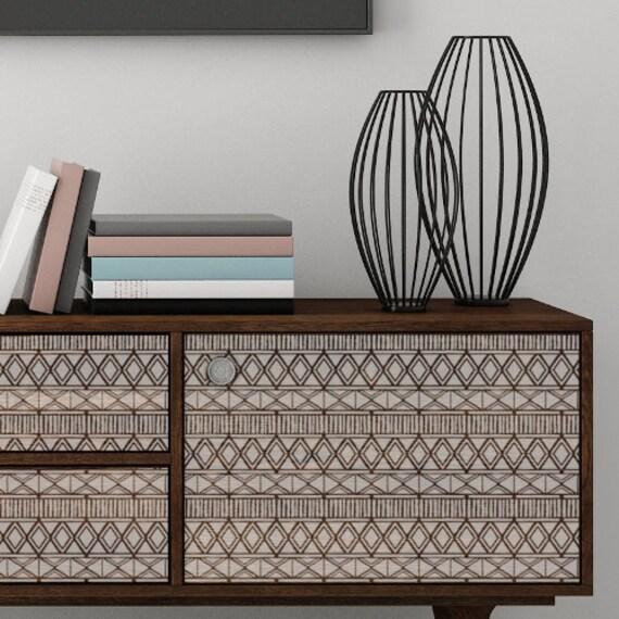 zulu m bel wand handwerk schablone stammes afrikanische. Black Bedroom Furniture Sets. Home Design Ideas