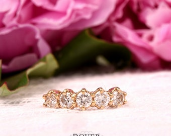 Vintage Diamond 14K Yellow Gold Ring