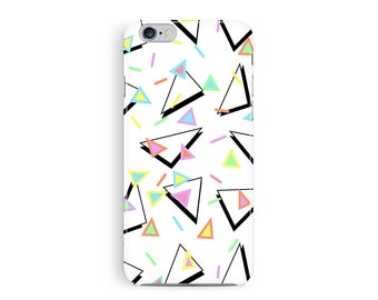 iPhone 7 Case, Tough iPhone 7 Cover, 90s iPhone 7 Case, Protective iPhone 7, 90s Style, Geometric iPhone 7 Case, Triangle iPhone 7 case