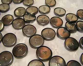 """7/8"""" Metal Buttons to Cover 50 count Sewing Supplies Button Covers"""