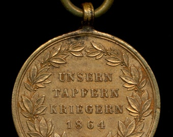 Austro Hungarian medal for the Denmark Campaign of 1864
