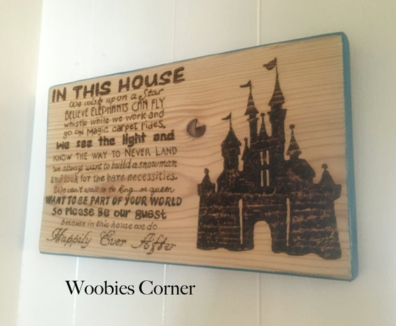 In This House We Do Happily Ever After Disney By Woobiescorner