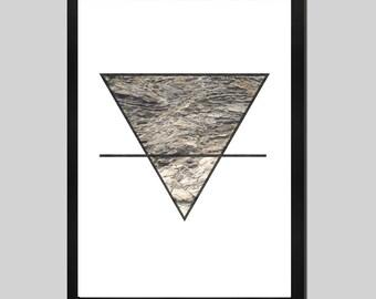 Earth element, symbol, photography, photo, minimalist, fine art, decoration