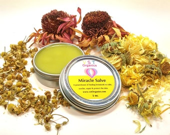 Miracle Salve // Skin Therapy // First Aid Salve