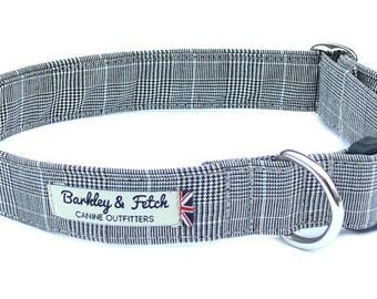 Prince of Wales Check Dog Collar