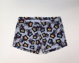 Limited Edition Kitty Cat Spandex Shorts