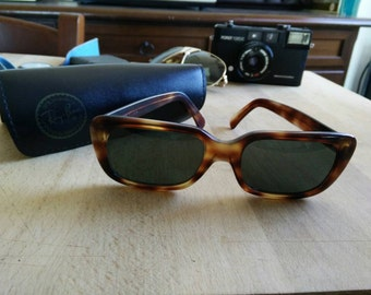 70's ultrarare Ray Ban MONTI  Bausch & Lomb made in usa with original case
