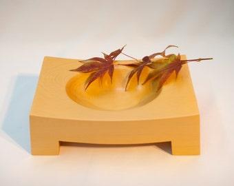 Wood Valet Tray