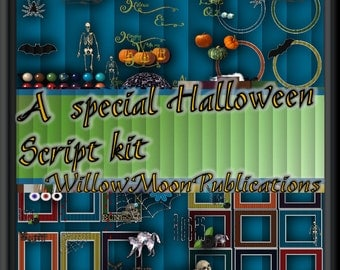 Halloween Special Scrap Kit