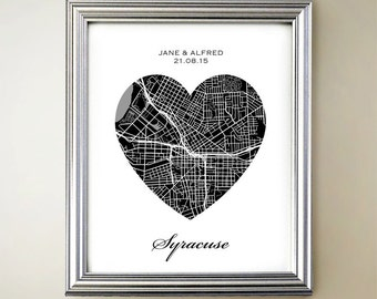Syracuse Heart Map