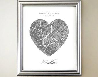 Dallas Heart Map