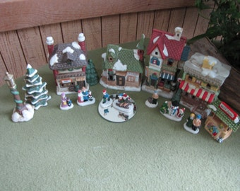 Little Village Collection Christmas Around the World House of Lloyd