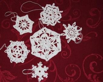 crochet snowflakes Nr. 6