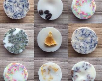Bath Melt - Various Scents - Vegan Friendly - 100% Natural Ingredients - Handmade  - Rose - Lavender - Orange - Cocoa Butter - Shea Butter