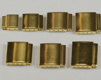 Watch Strap Bracelet Extender Gold steel extend straps bands clasp Extension Link