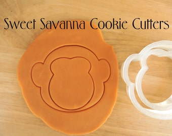 Monkey Face Cookie Cutter No2