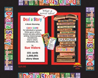 Deal a Story: A Brainstorming Card Game for Writers