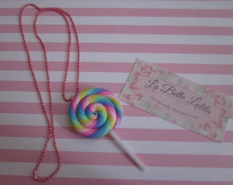 Sweet Loli-pop Necklace